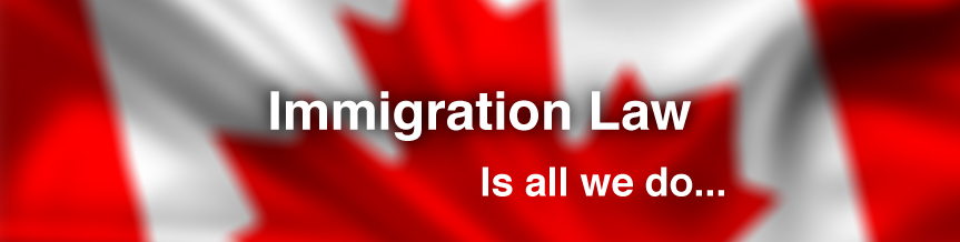 Kitchener Immigration Lawyer, Immigration Law is all we do