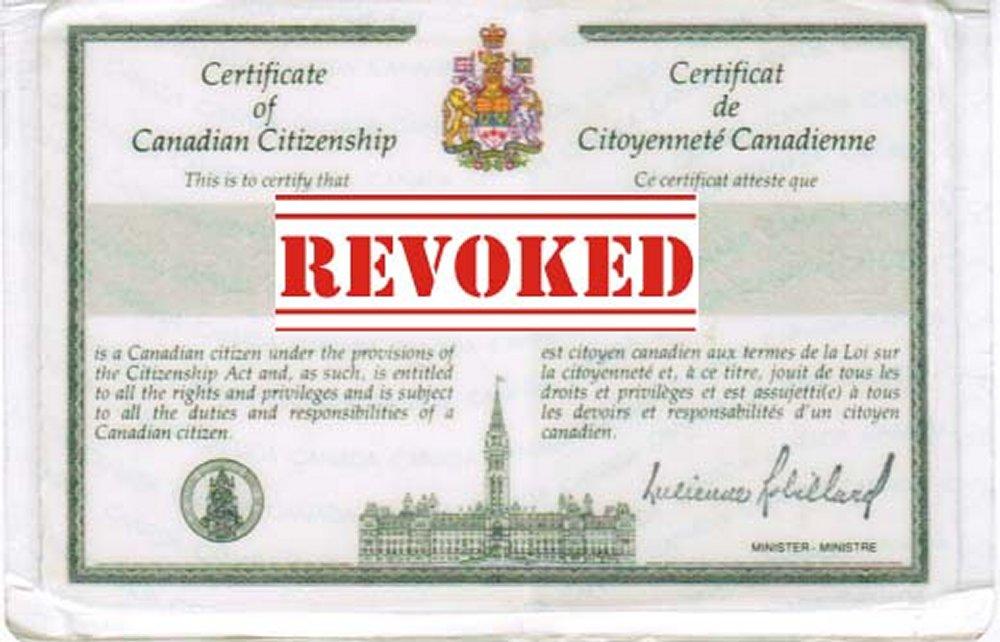 Citizenship Revocation