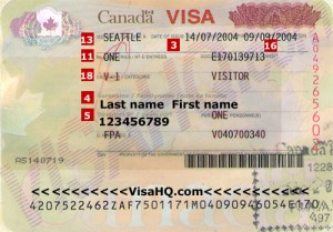 Visitor's Visa