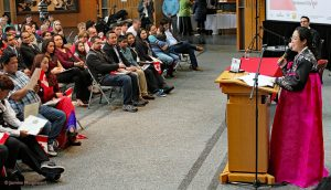 Citizenship Ceremony at the Council Chambers at City Hall