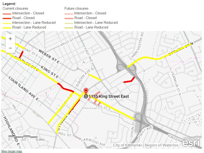 Road Closures May Affect Office Accessibility