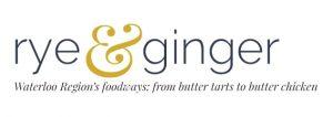 Jennifer Roggemann featured on Rye&Ginger blog - logo