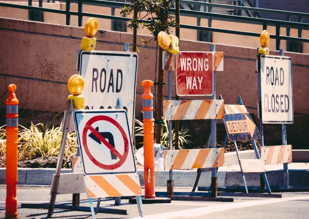 NOTICE: Road Construction On Our Street