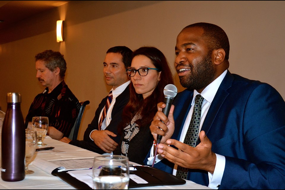 Guelph panelists (photo from Guelph Today)
